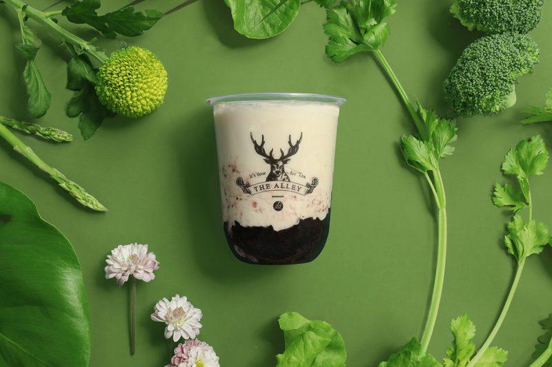 鹿角巷饮料控必收!全新轻酸奶系列让您享受满满的紫米香