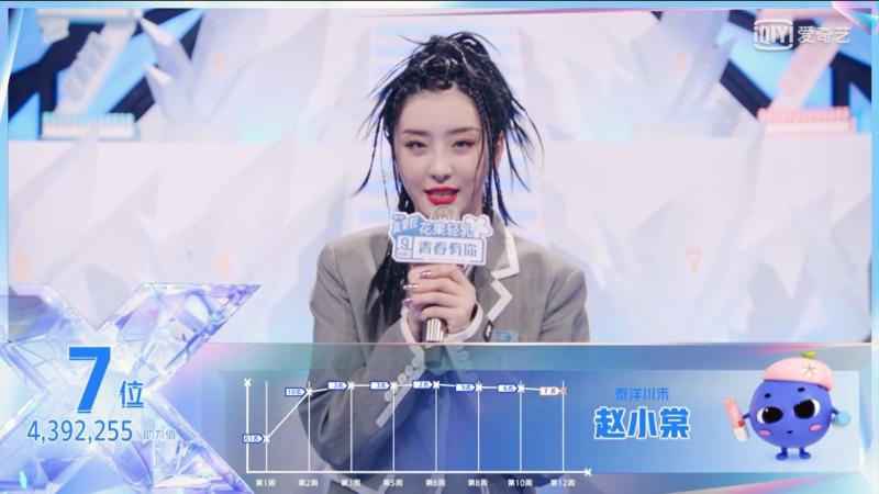 《青春有你2》总决赛排名出炉!恭喜刘雨昕C位出道!