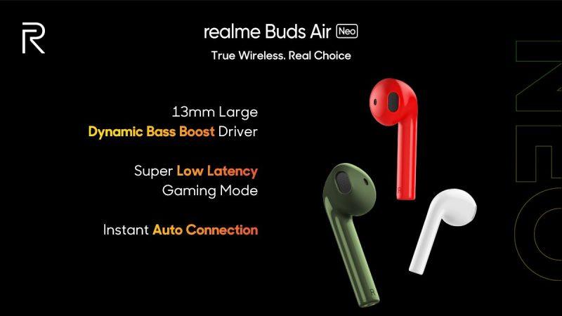 """时尚又轻便,一秒就爱上!首款智能手环realme Band、超强主打""""无延迟感""""的realme Buds Air Neo!-Woah.MY"""