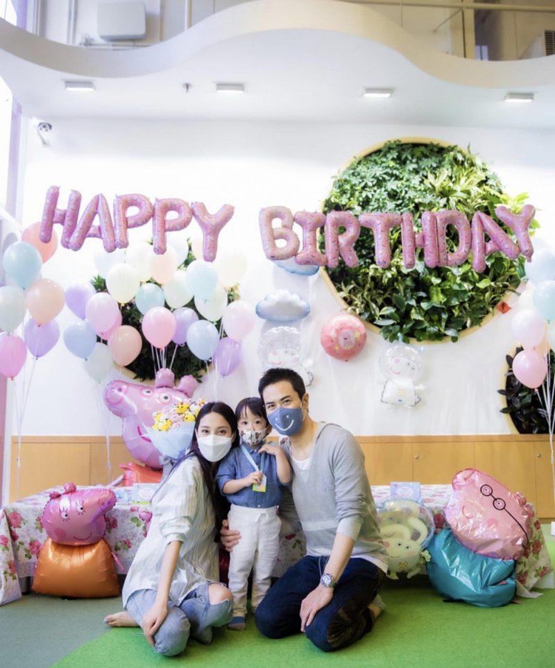 Rafa两岁了!郑嘉颖陈凯琳为儿子办生日趴庆生,感慨不舍长大太快