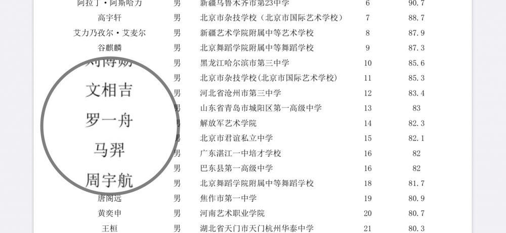 《青你3》罗一舟素人时期参加艺考画面曝光!网友:不愧是舟帝,人群中最显眼!-Woah.MY
