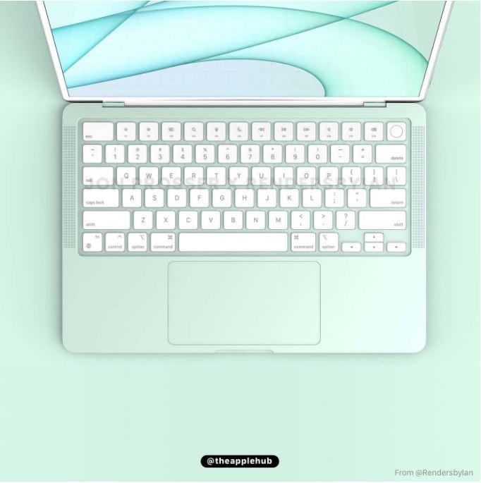 网上疯传七款棉花糖色系列MacBook Air!直击你的少女心!-Woah.MY