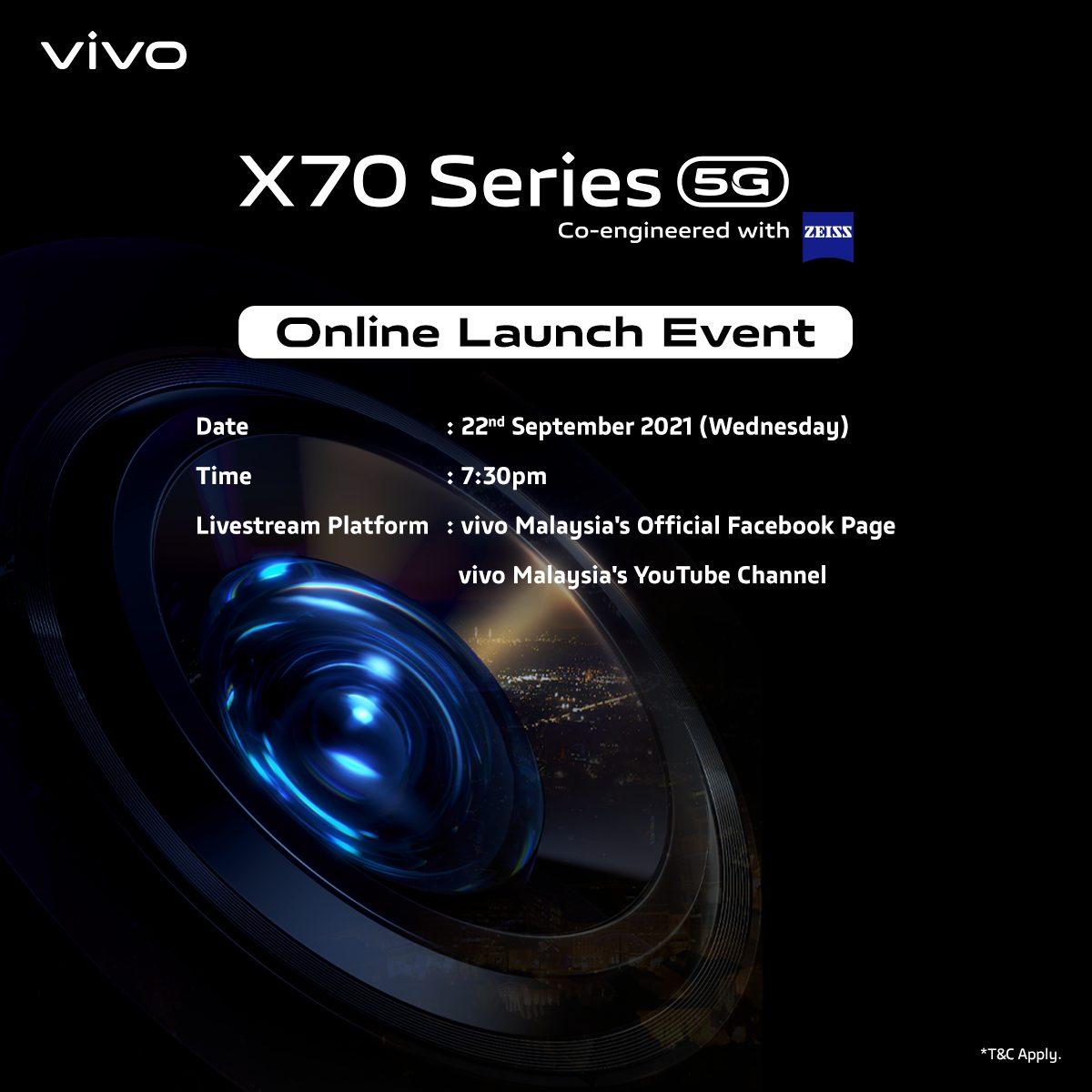 vivo X70 系列蔡司镜头再升级!带你看透大马隐藏之美!顶级拍照旗舰手机将于9月22日正式发布!-Woah.MY