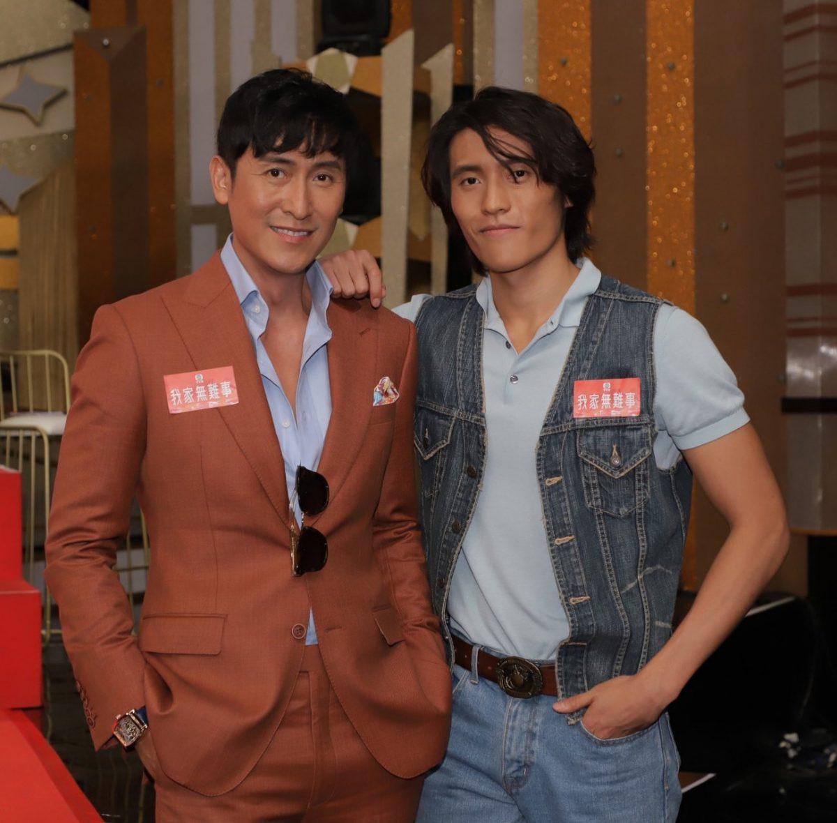 """TVB新剧《我家无难事》开播!马德钟父子首次搭档,23岁马在骧被嘲""""比爸爸老""""-Woah.MY"""